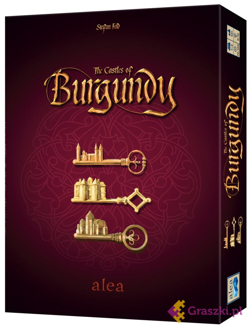 Zamki Burgundii: BIG BOX - Stefan Feld // darmowa dostawa od 249.99 zł // wysyłka do 24 godzin! // odbiór osobisty w Opolu